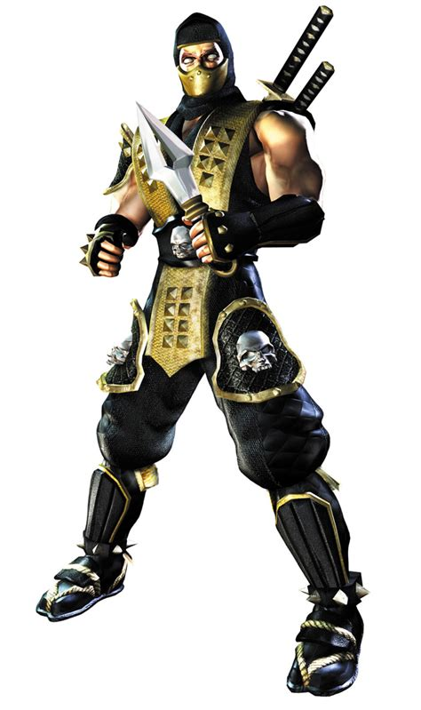 scorpion characters art mortal kombat deadly alliance