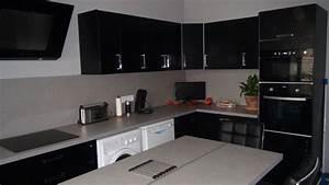 cuisine delinia noir With deco de terrasse exterieur 11 cuisine delinia noir