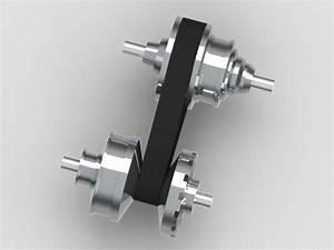 CVT GEARBOX STEP / IGES 3D CAD model GrabCAD
