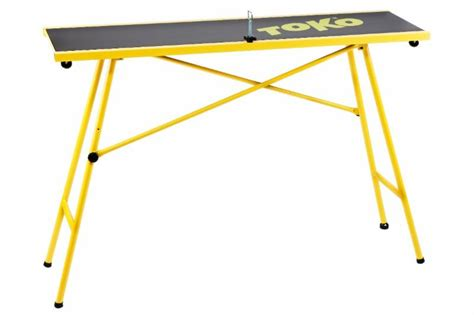 Toko Introduces Table And Two Ski Vises For Nordic Waxing
