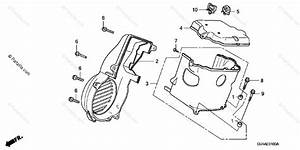 Honda Scooter 2007 Oem Parts Diagram For Fan Cover