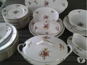 Service Vaisselle Porcelaine : service de table faience ancienne ~ Teatrodelosmanantiales.com Idées de Décoration