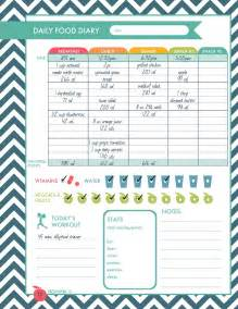 Free Printable Daily Food Journal for Weight Loss