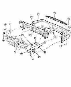 Dodge Durango Bumper Parts Diagram  U2022 Wiring Diagram For Free