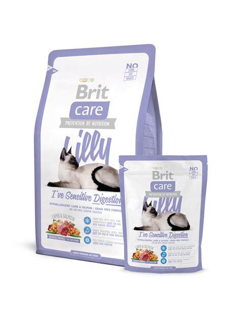 Brit Care Cat Lilly Digestion sausā barība kaķiem ar ...