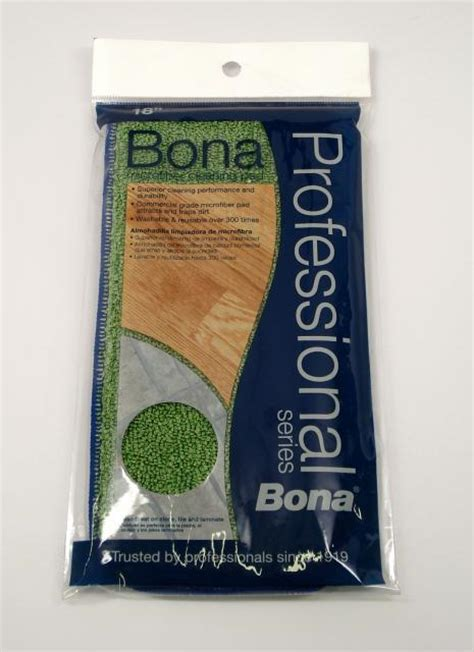 bona pro series 18 inch microfiber cleaning pad each chicago hardwood flooring