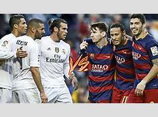 Bale, Benzema, CRonaldo vs Messi, Suarez, Neymar BBC vs