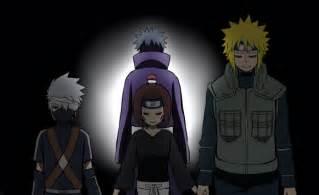 Naruto Minato Kakashi Obito and Rin