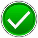 Mark Check Button Clip Tick Vector Clipart