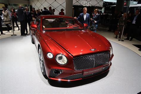 new bentley 2017 frankfurt auto show the new bentley continental gt