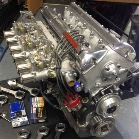 Jaguar 3.8 Xk E-type Race Engine For Sale On Car And