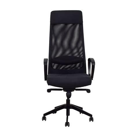 Ikea Stuhl Schwarz by 68 Ikea Ikea Black Office Chair Chairs