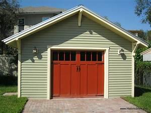 One Car 16 U0026 39 X22 U0026 39  Garage Construction Plans