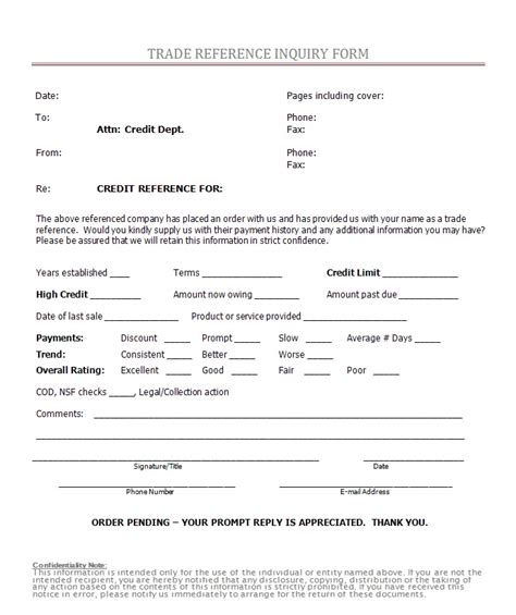 18636 reference request form inspirational reference request form sle employment
