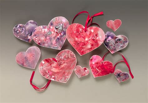 heart suncatchers craft crayolacom