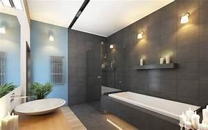 52 master bathroom designs with beautiful woodwork With carrelage adhesif salle de bain avec led wall lamp