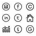 Minimal Web Icons Interface Lineal Icon Gesture