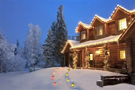 christmas house scenes 25 outdoor decoration ideas in pictures