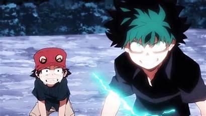 Hero Season Academia Midoriya Fight Bad Anime