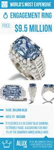 most expensive wedding ring in the world most expensive engagement ring in the world bvlgari blue alux