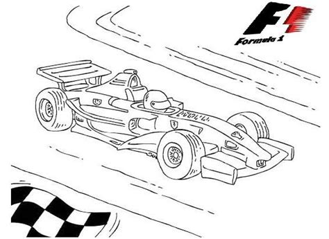 F1 Formula 1 Race Cars Coloring Pictures in 2020 Cars