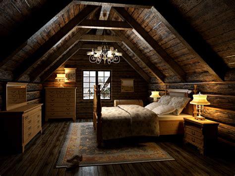 bedroom   attic  model max cgtradercom