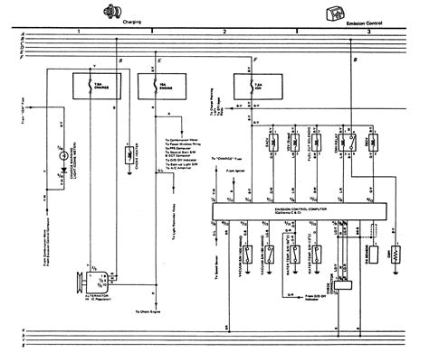 1981 Toyotum Wiring Diagram by Color Code Wiring Diagram For The Alternator 1981