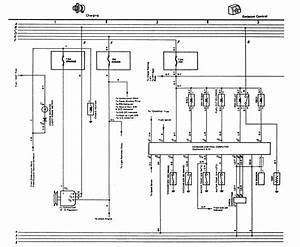 Color Code Wiring Diagram For The Alternator Plug 1981 Toyota Truck With A 22r Optional