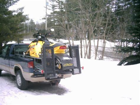 snowmobile truck r plans images