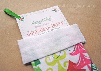 1000 images about christmas diy invitations and cards on pinterest stockings stocking