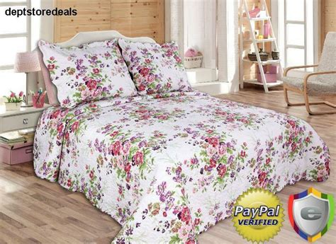 Size Bedspreads And Quilts by 3 Pink Purple Coverlet Quilt Set Size