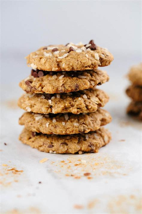 Oatmeal Chocolate Chip Coconut Lactation Cookies Jessica