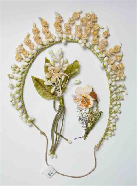 80 Best Images About Antique Wax Flowers On Pinterest