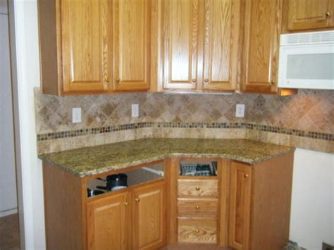 kitchen backsplash patterns 4x4 noce travertine tile backsplash designs for kitchens