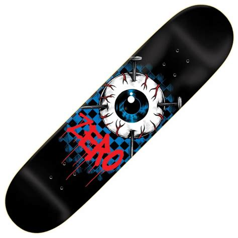 Zero Skateboard Decks by Zero Skateboards Eyeball Skateboard Deck 8 375 Zero