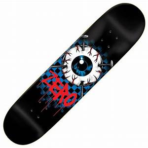 "Zero Skateboards Eyeball Skateboard Deck 8.375"" - Zero ..."