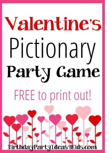 Valentine Party Games