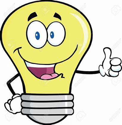 Clipart Idea Lightbulb Clip Clker Cliparts Royalty