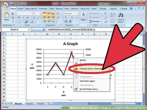 How To Add A Second Y Axis To A Graph In Microsoft Excel
