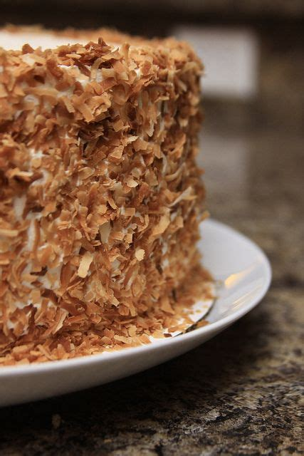 towering coconut layer cake  tyler florence recipe