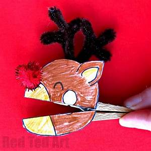 Christmas Clothespin Puppets