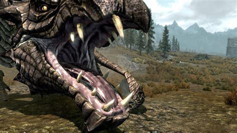 skyrim mod improves dragon graphics