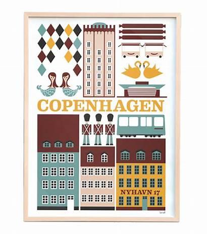 Copenhagen Poster Living Ferm Besuchen