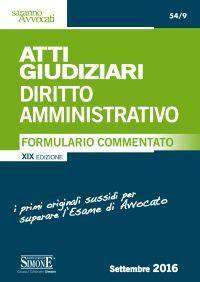 diritto amministrativo dispense atti giudiziari diritto amministrativo la matricola