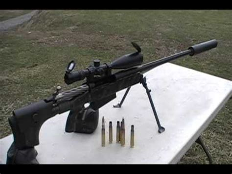 50 Bmg Suppressor by 50 Bmg Subsonic Rounds In A Form 1 Suppressor Doovi