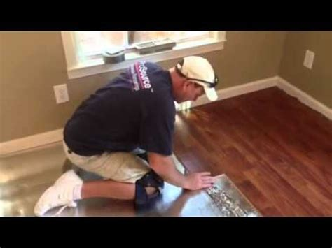 install  laminate floor youtube