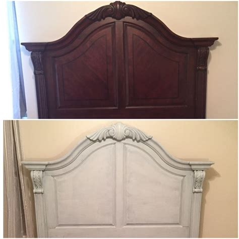 Headboard Painting Ideas by Best 25 Chalk Paint Bed Ideas On Chalk Paint