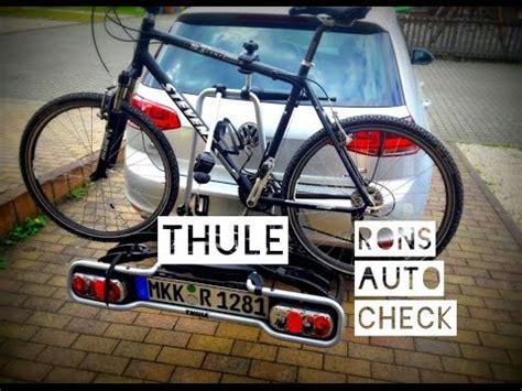 thule euroride 940 test thule euroride 940 anh 228 ngerkupplung fahrradtr 228 ger test aufbau und montage