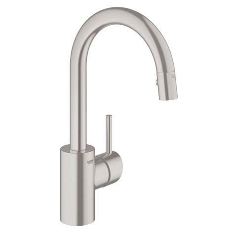 grohe feel kitchen faucet grohe chrome kitchen faucet handle