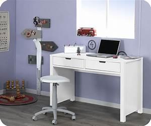 Bureau Enfant Solde : bureau enfant teen blanc achat vente bureau chambre enfant com ~ Teatrodelosmanantiales.com Idées de Décoration